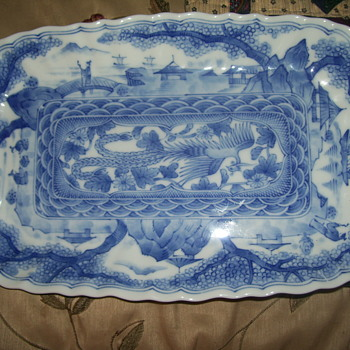 asian  serving plate