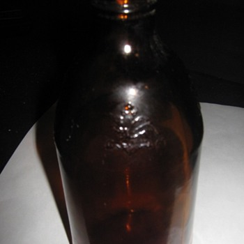 Bud beer bottle