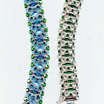 Exquisite Rare Signed Sherman Bracelets From Collection Of Sandra Caldwell