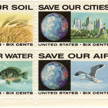 Save our Environment Plate Block