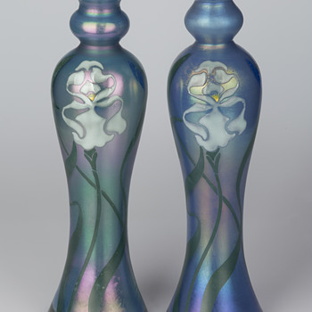 Poschinger vases for the Paris World Exhibition in 1900 and lessons