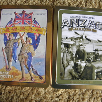 Biscuit Tins  - Military and Wartime