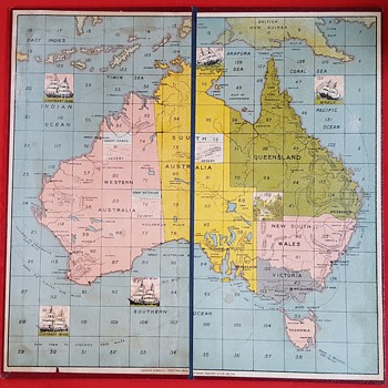 "Chad Valley ""Advance Australia"" - Games"
