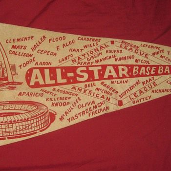 1966 All Star Game - Baseball
