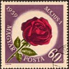 "Hungary - ""Labor Day Rose"" Postage Stamps"
