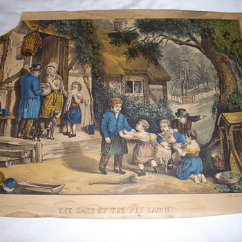 Is this a real Currier and Ives? - Posters and Prints