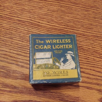 "1920's? S. Smith & Sons (MA) ""The WIRELESS CIGAR LIGHTER"" - Tobacciana"
