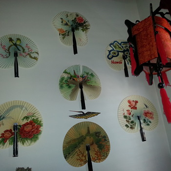SOME OF MY FAN COLLECTION - Asian