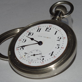 SETH THOMAS POCKET WATCH {1890}