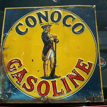 Early Conoco - Signs