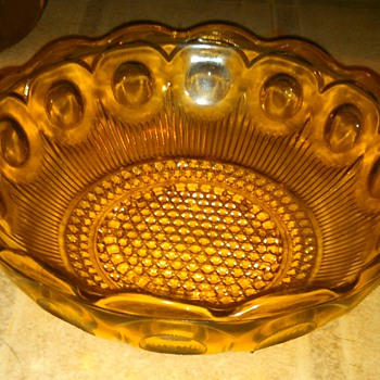 "My 1960's Capri ""Swirl"" -Dogs water dish:("