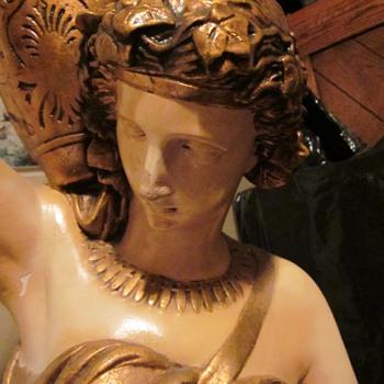 Art Nouveau Figural Lamp?