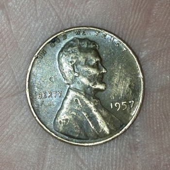 1957 Wheat Penny? Anything special?
