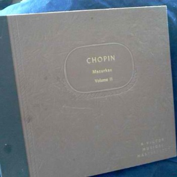 Found 78 records by Arthur Rubinbstein. Chopin Vol. II