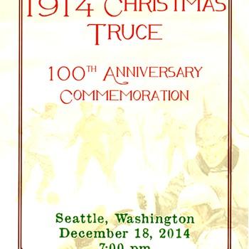 1914 Christmas Truce Centenial