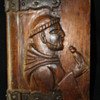 Frances of Asisi hand carved bible case