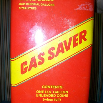 Gas Saver Piggy Bank - Petroliana