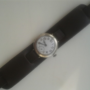 1914 silver trench watch