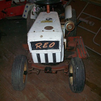 Reo Riding Tractor