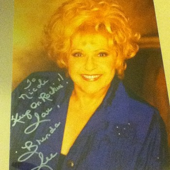 Brenda Lee Signed Photo
