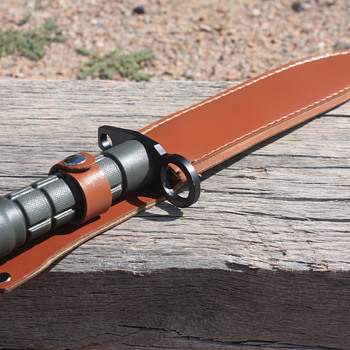 """DEFENDER XTREME"" MILITARY-Style FIXED-BLADED BAYONET-Style CAMPING/HUNTING KNIFE"