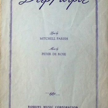 &quot;Deep Purple&quot; Sheet Music - Paper