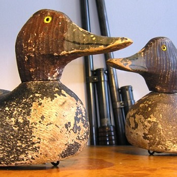 Duck Decoys - Grubbs Perfection 1 -  Gundelfinger  Padco  Poitevin - Folk Art