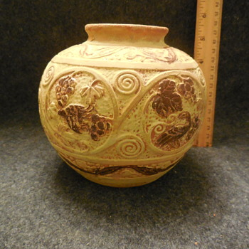 Pottery Jar/Vase Made In Japan
