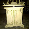 Carved Musical Bench