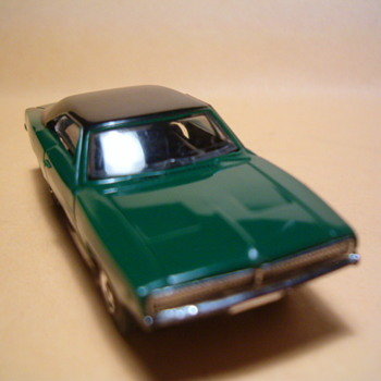 AURORA THUNDERJET 500 GREEN DODGE CHARGER H.O. SCALE
