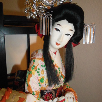 Japanese Geisha doll I recused from a thrift store - Dolls