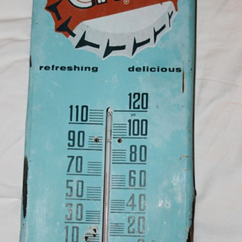 Orange Crush Thermometer (Does anyone have more information on this?) - Advertising