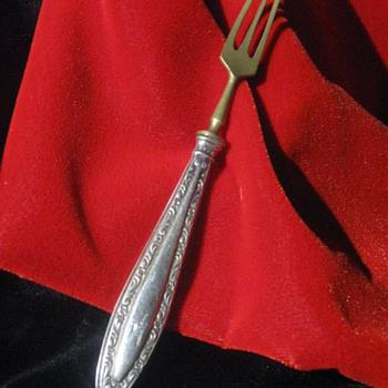 Adolf Hitler  .  .  .  Personal Monogrammed Fork