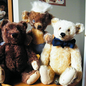 Some of my favourite Teddies - Dolls