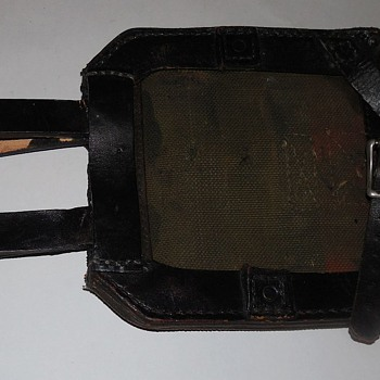 Is this a shovel holder? World War II?