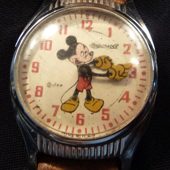 1947 large round Mickey - Wristwatches