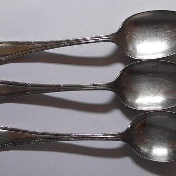 MY FAVORITE THREESOME SPOONS - Sterling Silver