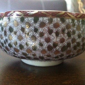Small Cloisonné bowl
