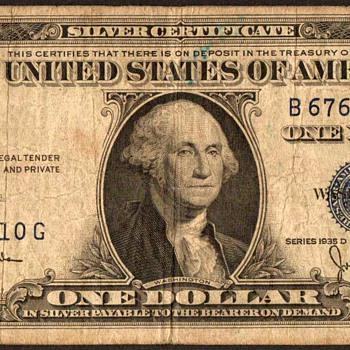 1935 D - U.S. Silver Certificate