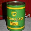 BP Energol grease can