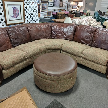 Thrift sectional couch identification era(ish)  - Furniture