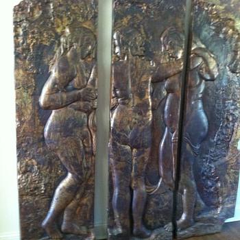 Three Muses - Visual Art