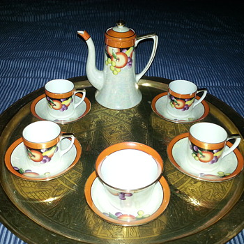 Noritake coffee set pre 1941 - China and Dinnerware