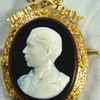 Cameo Portrait of the Young Alexander III of Russia, by Paul Lebas, circa 1867