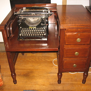 Typewriter Desk - Furniture
