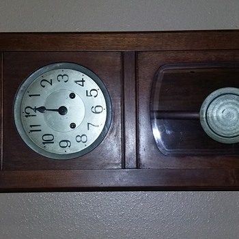 Antique German Mantle Clock - Clocks