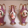 "RS Prussia vases, marked ""Royal Vienna/Germany"" ca. 1904"