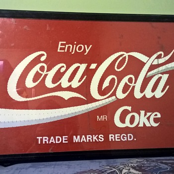 Coca Cola Light Sign