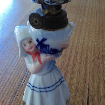 Sweet oil lamp from Holland ?? 1938 from my mum