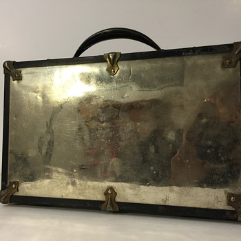 Antique Chrome Carrying Case (Briefcase?)